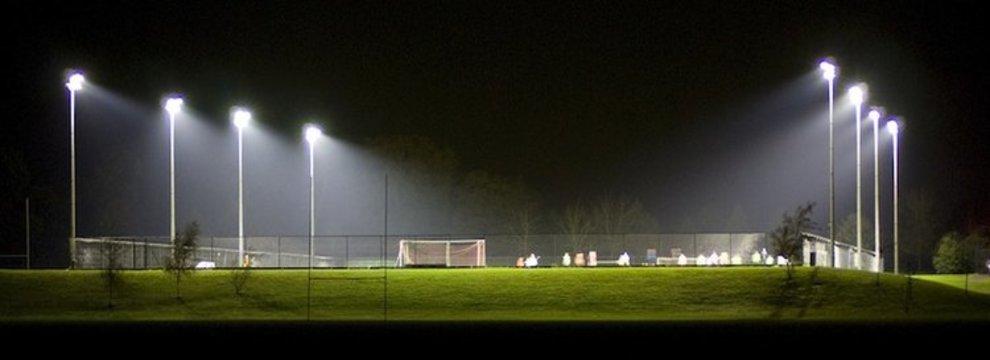 освещение стадионов
